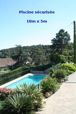 Location villa villepey Saint Aygulf 83 piscine bord de mer 10 couchages internet
