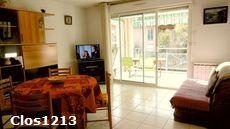 Location Résidence Clos Saint-Saens Saint Aygulf 83370 4 couchages spacieux 1 chambre garage climatisation réversible au calme