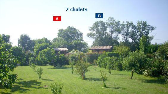 Location saisonnières Roquebrune sur Argens, 83520, studio à la campagne, chalet en bois