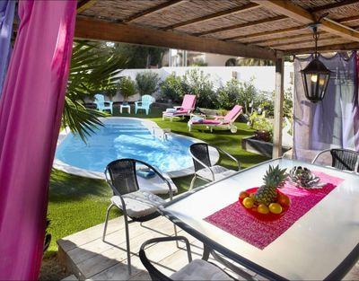 les Issambres 83380, 2 chambres, 4 couchages, piscine, internet wifi, Roquebrune sur Argens, Meublé tourisme 3 étoiles