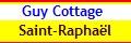 Saint Raphael, 2 chambres, 6 couchages, en rez de jardin et internet