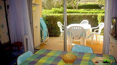 Les Issambres, domaine de la Gaillarde, studio rez de jardin, 4 couchages, 2 piscines, plage de la Gaillarde, loueur particulier