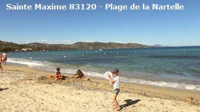 Location la Nartelle, Sainte Maxime 83120, 6 couchages, jardin, climatisation, internet gratuit