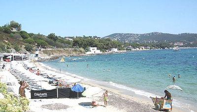 Sainte Maxime, Le Soleil d'Or 1, plage de la Nartelle, les Eléphants, 4 à 6 couchages, jardin, internet illimité