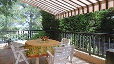 Location particulier, duplex 4 couchages, Saint Aygulf 83370, avec jardin clos, au calme